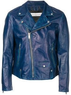 байкерская куртка с потертой отделкой Golden Goose Deluxe Brand