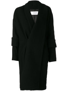 double cuff long coat Chalayan