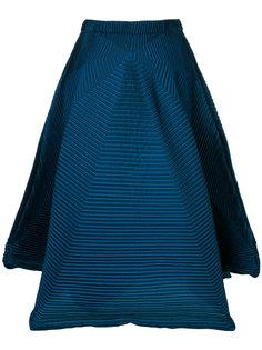 расклешенная юбка миди  Issey Miyake