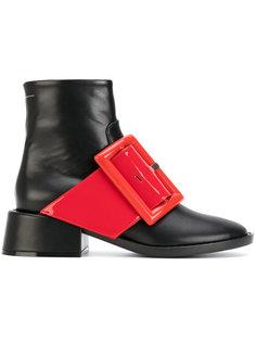 ботинки по щиколотку с пряжкой Mm6 Maison Margiela