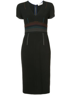 приталенное платье Diane Von Furstenberg