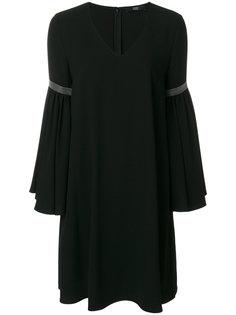 платье шифт с декоративной строчкой Steffen Schraut