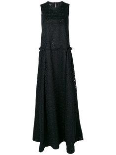 вечернее платье без рукавов Rochas