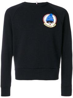 свитер с заплаткой на груди Moncler Grenoble