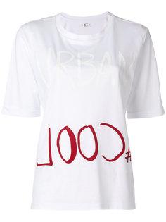 футболка с принтом Luisa Cerano