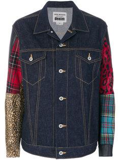 джинсовая куртка в стиле пэчворк  Junya Watanabe Comme Des Garçons