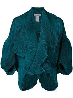 пиджак с драпировкой  Issey Miyake