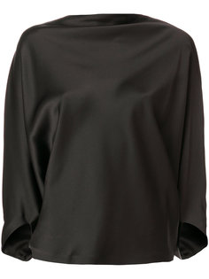draped satin top Chalayan