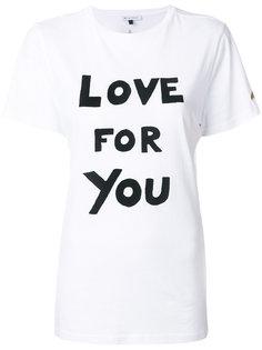 футболка Love For You Bella Freud