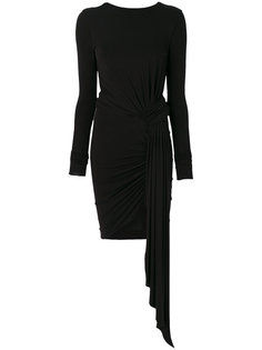 платье мини с драпировкой  Alexandre Vauthier