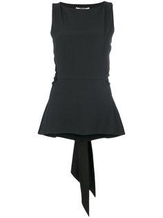 блузка с атласной завязкой  Chalayan