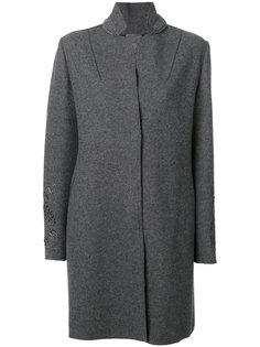 пальто с воротником-стойка Lorena Antoniazzi