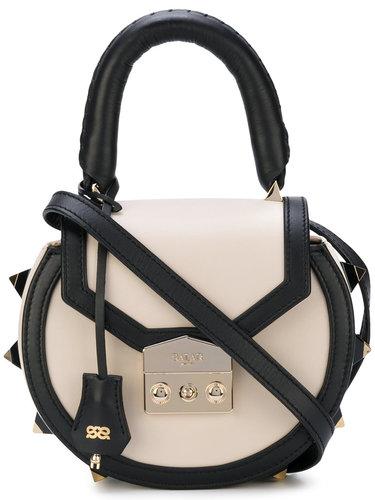 контрастная сумка-сэтчел через плечо Salar