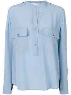 двухцветная рубашка Eva Stella McCartney