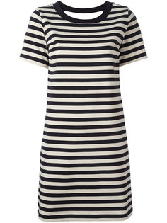 платье в полоску Moncler