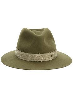 шляпа с рельефной лентой Maison Michel