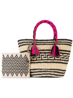 плетеная сумка-тоут Kolet Yosuzi