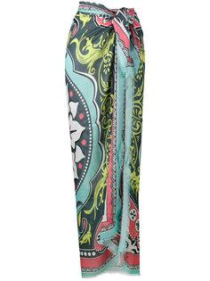 большой шарф с принтом Gaia Mary Katrantzou