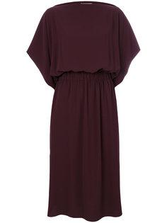платье миди с горловиной-лодочкой Maison Margiela