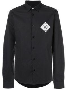 рубашка с нашивкой логотипа Versace Jeans