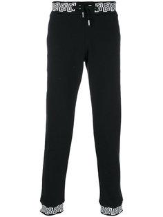 трикотажные брюки с принтом  Versace Jeans