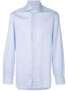 однотонная рубашка Barba