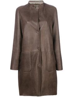 пальто с панельным дизайном Manzoni 24