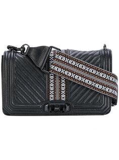 сумка на плечо с откидным клапаном Rebecca Minkoff