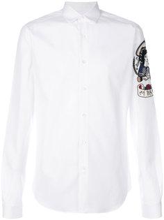 рубашка с вышитым рисунком Valentino