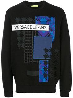 толстовка с принтом  Versace Jeans