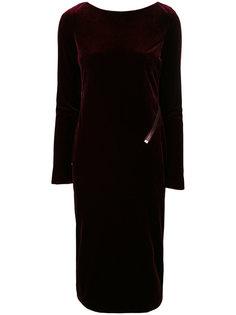 бархатное платье-миди Tom Ford