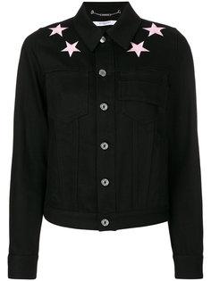 джинсовая куртка с нашивками-звездами Givenchy