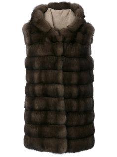 куртка с капюшоном без рукавов Manzoni 24