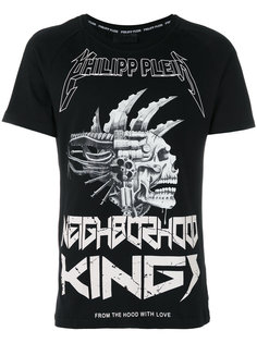 футболка Neighbourhood Kings Philipp Plein