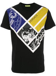 футболка с принтом  Versace Jeans