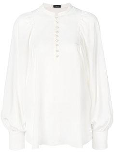 блузка-туника с присборенными рукавами  Joseph