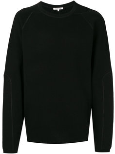 ribbed detail sweatshirt Helmut Lang