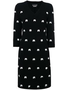 платье с бантами  Boutique Moschino
