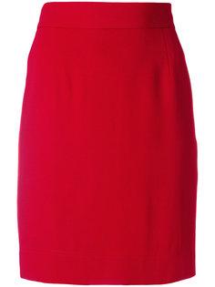короткая облегающая юбка Moschino Vintage