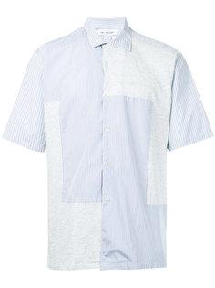 лоскутная рубашка в полоску Comme Des Garçons Vintage