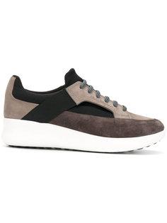 кроссовки с панельным дизайном Salvatore Ferragamo