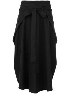 плиссированная юбка Jil Sander