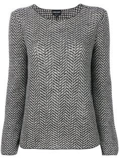 свитер в елочку  Giorgio Armani