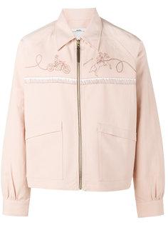 куртка с вышитым логотипом Visvim