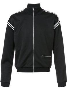 спортивная куртка с контрастной окантовкой Maison Margiela