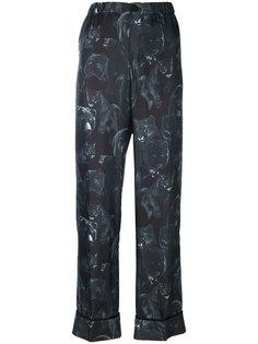 брюки с принтом ночных животных F.R.S For Restless Sleepers