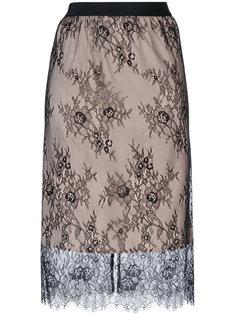 юбка с кружевной отделкой Twin-Set