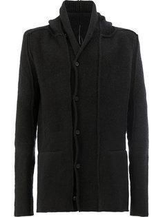 кардиган-пальто с капюшоном Masnada