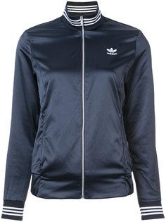 спортивная куртка с отделкой в полоску Adidas