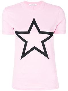 футболка со звездой Givenchy